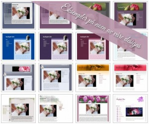 Eksempler på hjemmesider til bryllup