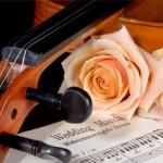 Liste over sanger til vielsen