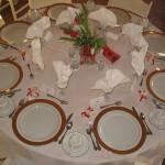 Pyntet Bryllupsbord 1
